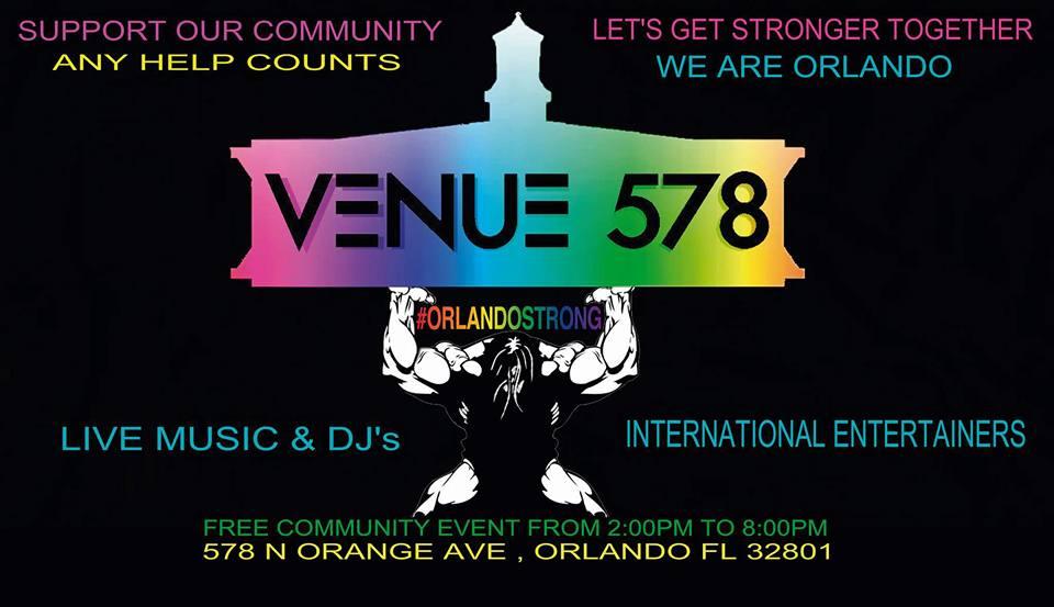 Orlando Strong Concert at Venue 578
