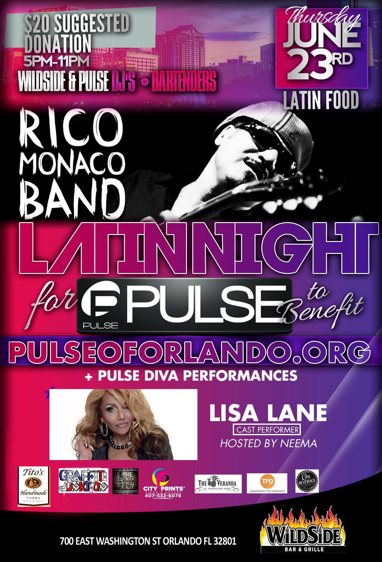Latin Night for Pulse